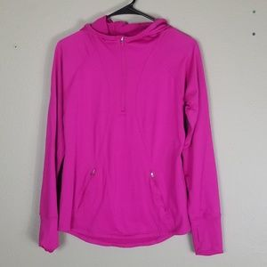 Gap Fit  Fuschia Pink Fleece Lined Pullover Small